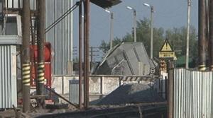 Железнодорожные пути у элеватора. Фото Tengrinews.kz
