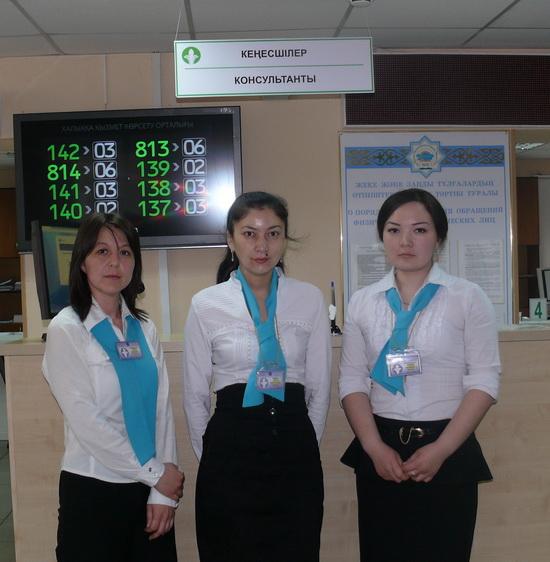 Слева направо - Гульнара Гулынина, Айсулу Шайсултанова и Динара Кусаинова