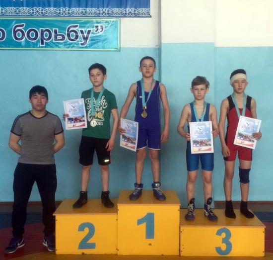Чемпионат области по греко-римской борьбе